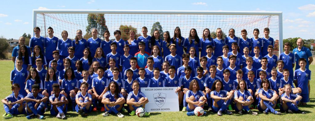 Keilor Downs Soccer School Class of 2017