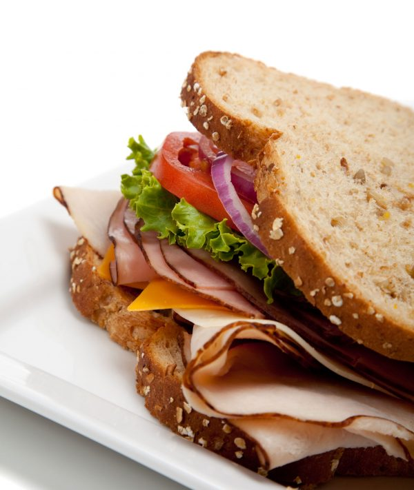 sandwich turkey canteen