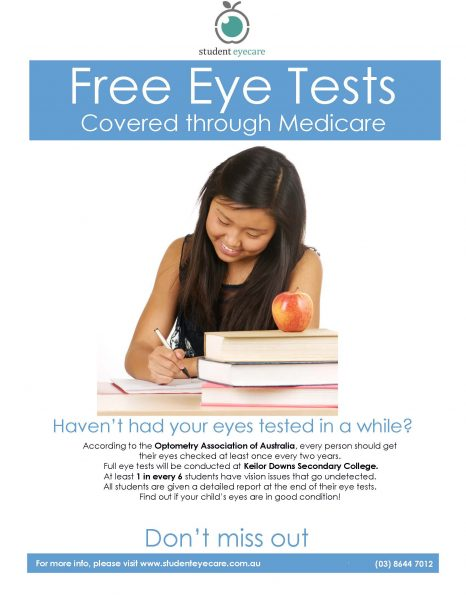 Student Eye Care Program