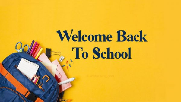 Students Return - First Day Back 2021
