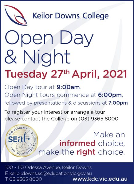 KDC Open Day/Night